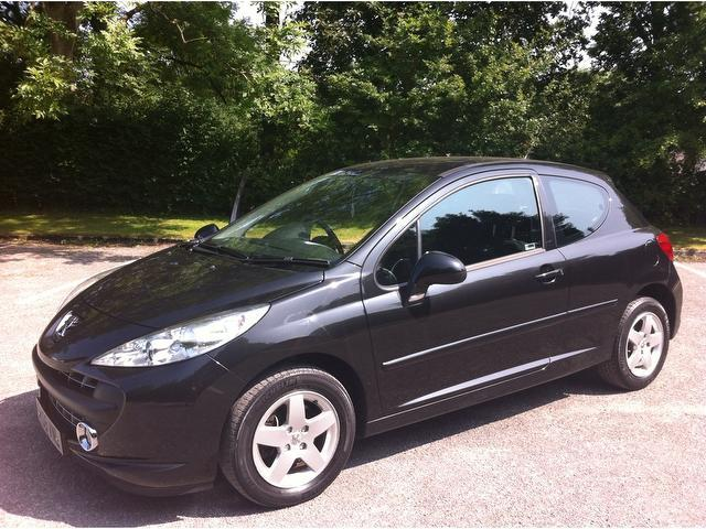 Used Black Peugeot 207 2008 Petrol 1.4 Vti Sport [95] Hatchback In ...