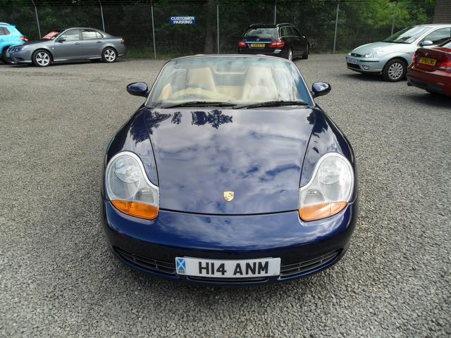 Used Porsche Boxster 3.2 S 2 Door Full Convertible Blue 2001 Petrol for Sale in UK