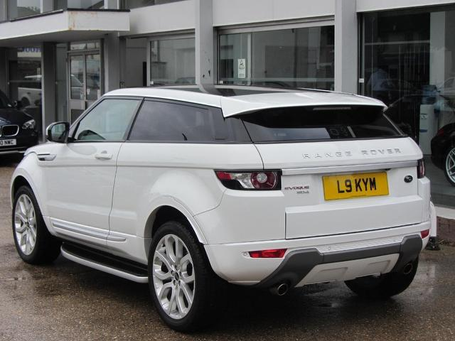 used land rover range 2011 white colour diesel evoque 2 2 coupe for sale in sevenoaks uk autopazar. Black Bedroom Furniture Sets. Home Design Ideas
