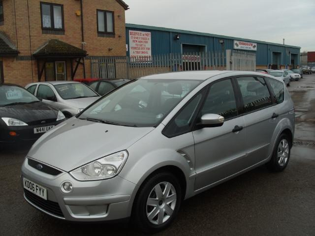 Used Ford S Max 1.8 Tdci Lx 5 Door Estate Silver 2006 Diesel for Sale in UK