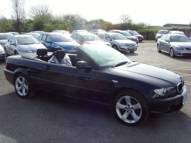 used bmw 3 series 2006 black colour petrol 318 ci se convertible for sale in fengate uk autopazar. Black Bedroom Furniture Sets. Home Design Ideas