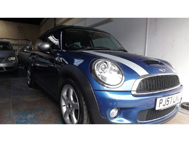 Used Mini Clubman Car 2007 Blue Petrol 16 Cooper S 5 Door Estate