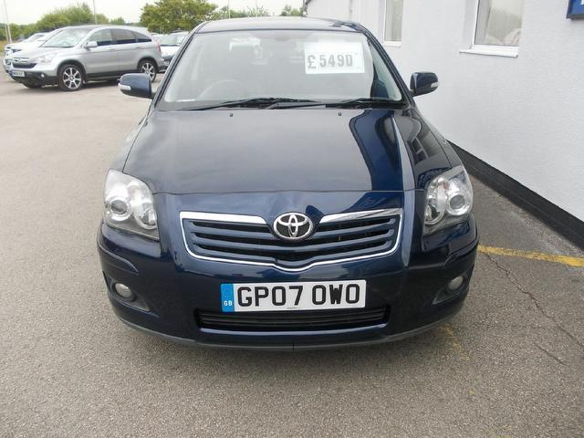 Used Toyota Avensis 2.0 Vvt-i T Spirit Hatchback Blue 2007 Petrol for Sale in UK