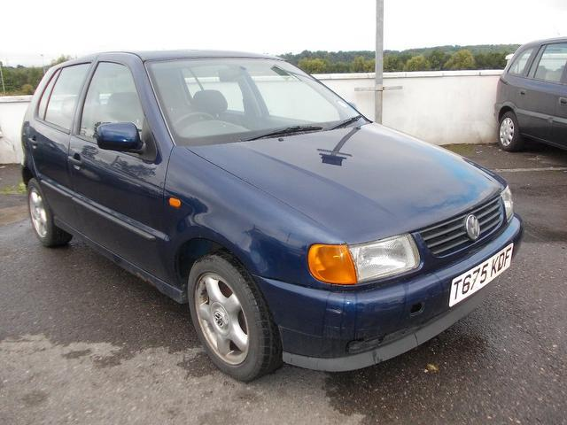 Used Volkswagen Polo 2001 Blue Hatchback Petrol Manual for Sale