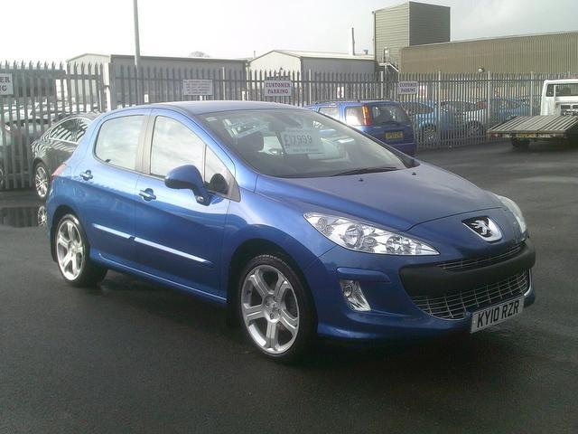 used peugeot 308 2010 diesel 1 6 hdi 110 sport hatchback blue edition for sale in fengate uk. Black Bedroom Furniture Sets. Home Design Ideas