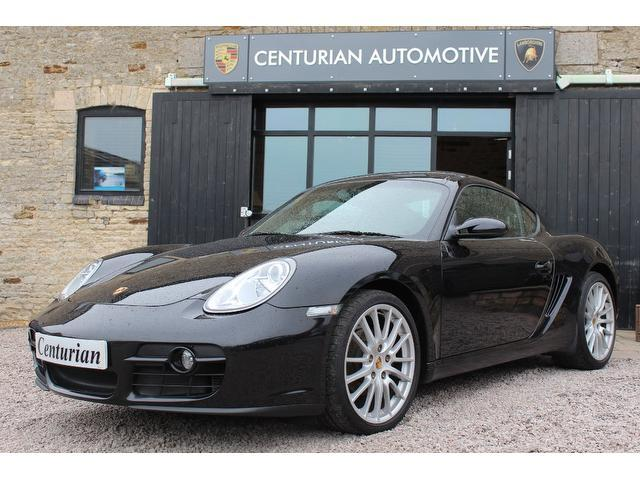 used porsche cayman 2008 petrol 2 7 2dr beautiful example coupe black edition for sale in. Black Bedroom Furniture Sets. Home Design Ideas