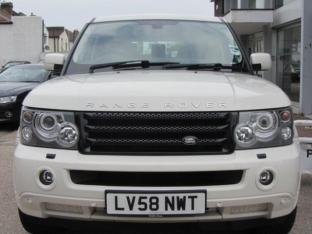 used land rover range 2008 automatic diesel sport 2 7 white for sale uk autopazar. Black Bedroom Furniture Sets. Home Design Ideas