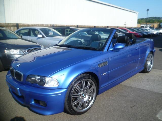 Used Bmw M3 2003 Blue Convertible Petrol Manual for Sale