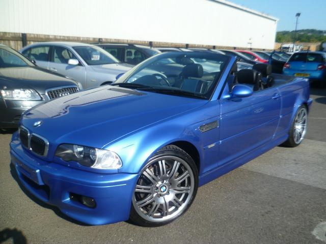 Used Bmw M3 2 Door 3.2  Convertible Blue 2003 Petrol for Sale in UK