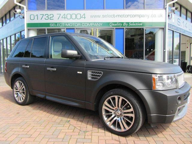 Used Land Rover  Black 2009 for Sale in UK