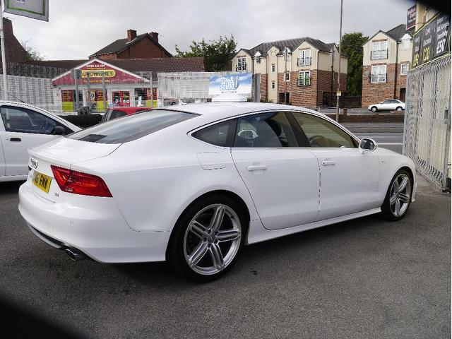 Used audi a7 2011 automatic diesel 3 0 tdi s line white for For sale on line