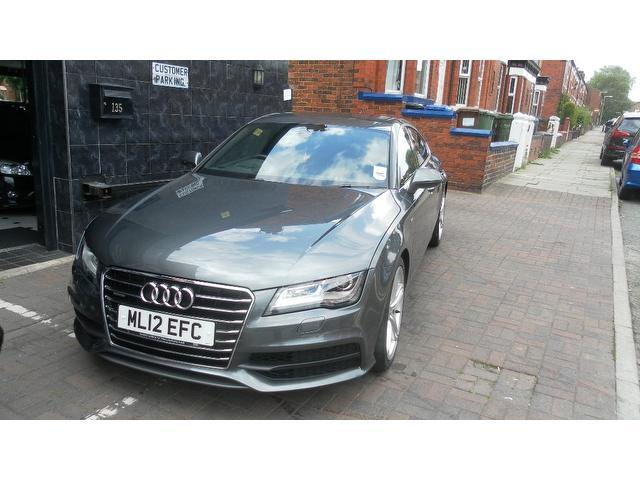 Used Audi A7 3.0 Tdi Quattro S Hatchback Grey 2012 Diesel for Sale in UK