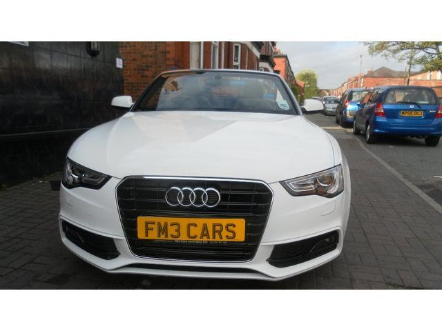 Used Audi A5 2012 Model 20 Tdi 177 S Diesel Convertible White For
