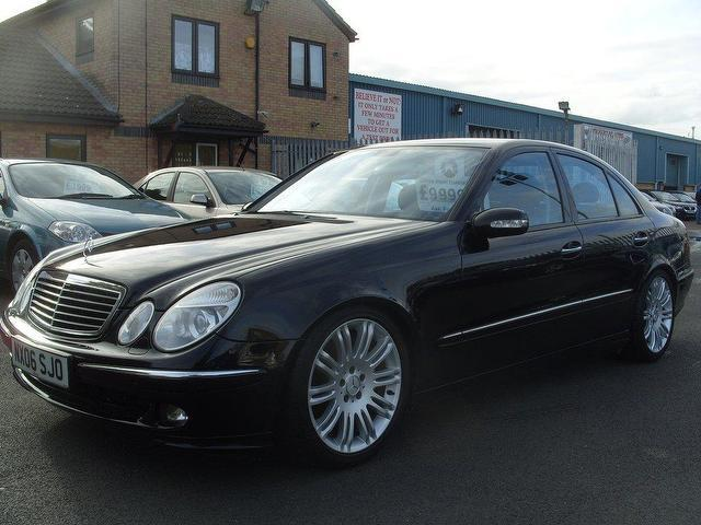 used mercedes benz 2006 model class e500 sport 7 petrol saloon black for sale in fengate uk. Black Bedroom Furniture Sets. Home Design Ideas