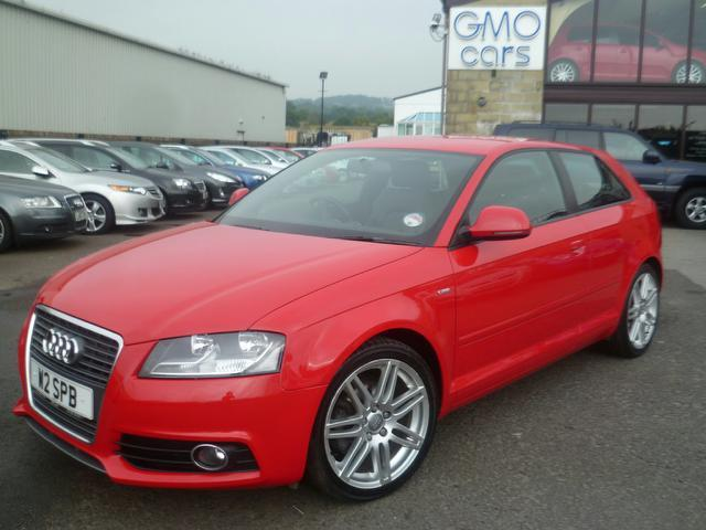 used audi a3 2008 diesel 2 0 tdi s line hatchback red edition for sale in penzance uk autopazar. Black Bedroom Furniture Sets. Home Design Ideas