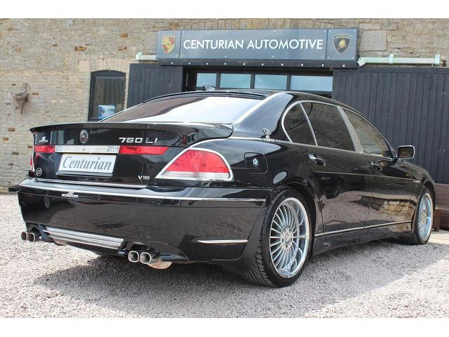 Used Black Bmw 7 Series 2003 Petrol 760li 4dr Auto Saloon Excellent Condition For Sale Autopazar