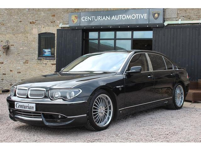 Used Black Bmw 7 Series 2003 Petrol 760li 4dr Auto Saloon Excellent