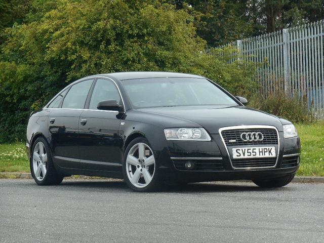 Used Audi A6 2005 Black Saloon Diesel Automatic for Sale