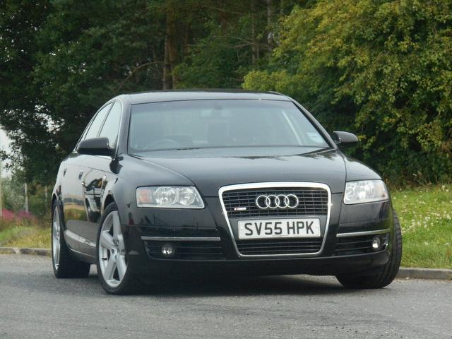 Used Audi A6 2.7 Tdi Quattro S Saloon Black 2005 Diesel for Sale in UK