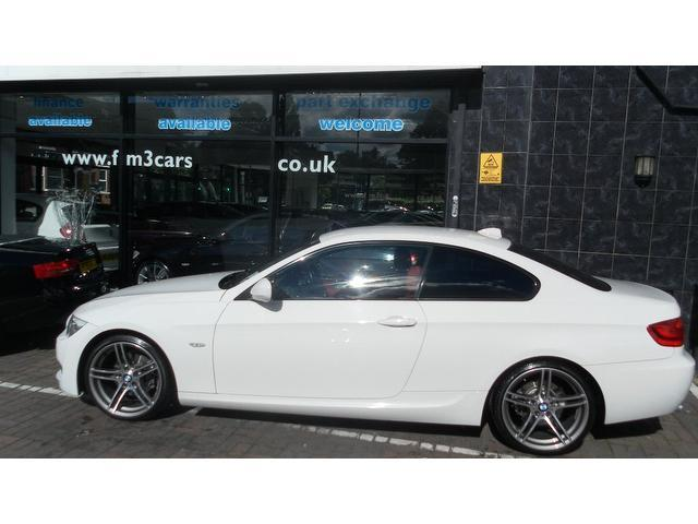 Used bmw 3 series 2011 diesel 320d m sport coupe white - Bmw 3 series m sport coupe ...