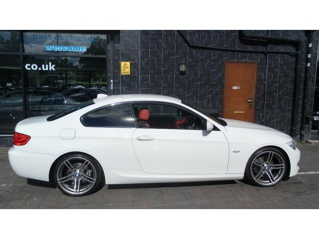 used bmw 3 series 2011 diesel 320d m sport coupe white with car