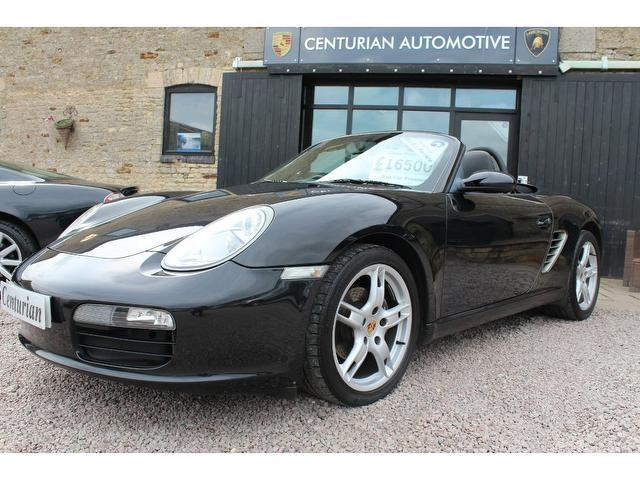 Used Porsche Boxster 2007 Black Convertible Petrol Manual for Sale