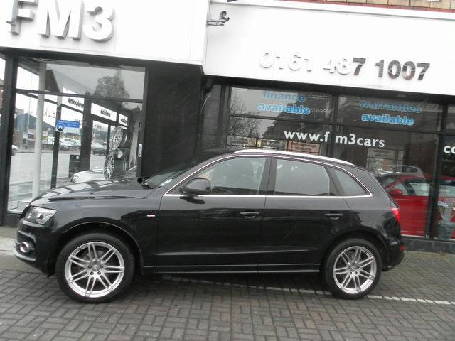 used audi q5 2009 diesel 2 0 tdi quattro s 4x4 black edition for sale in stockport uk autopazar. Black Bedroom Furniture Sets. Home Design Ideas