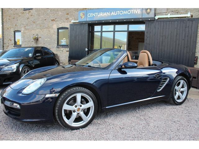 Used Porsche Boxster 2006 Blue Convertible Petrol Automatic for Sale