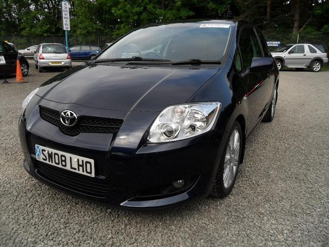 used toyota auris 2008 manual diesel 2 0 d 4d sr 3 door blue for sale uk autopazar. Black Bedroom Furniture Sets. Home Design Ideas
