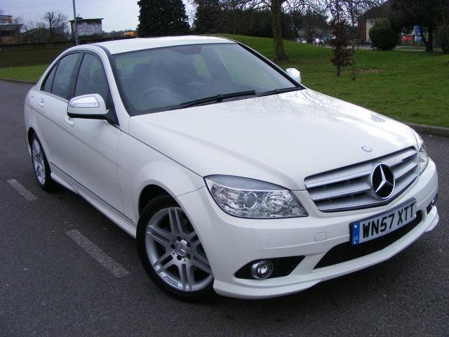 Used mercedes benz 2007 petrol class c180k sport 4dr one for Used mercedes benz a class for sale