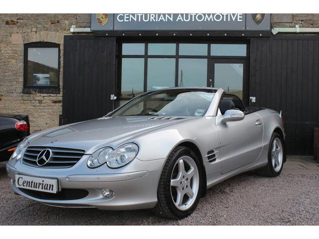 Used mercedes benz 2003 automatic petrol class sl 350 2 for Used mercedes benz sl for sale