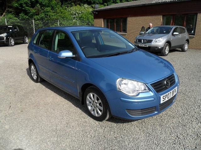 Used Volkswagen Polo 2007 Blue Hatchback Petrol Manual for Sale