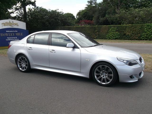 Used Cars In Newmarket >> Used Silver Bmw 5 Series 2006 Petrol 530i M Sport Saloon Excellent Condition For Sale - Autopazar