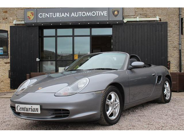 Used Porsche Boxster 2004 Grey Convertible Petrol Manual for Sale