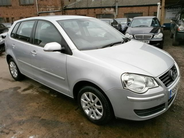 Used Volkswagen Polo 2005 Silver Hatchback Diesel Manual for Sale