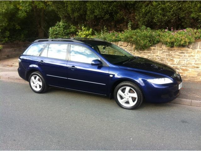 used mazda mazda6 2005 petrol 2 0 ts 5dr estate blue with for sale autopazar. Black Bedroom Furniture Sets. Home Design Ideas