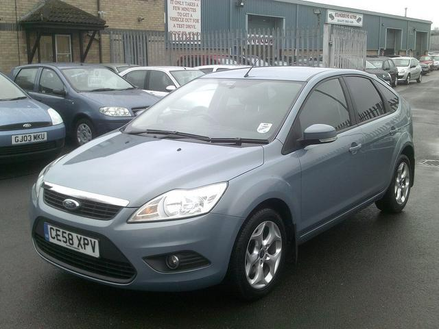 Used Cars For Sale Under 6000 >> Used Ford Focus 2008 Blue Paint Diesel 1.8 Tdci Style 5dr Hatchback For Sale In Fengate Uk ...