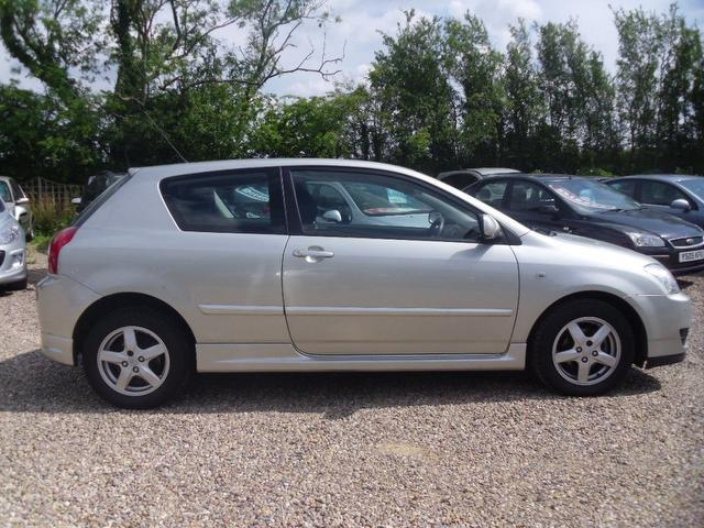 Used Cars For Sale Under 3000 >> Used Toyota Corolla 2006 Silver Paint Petrol 1.4 Vvt-i ...
