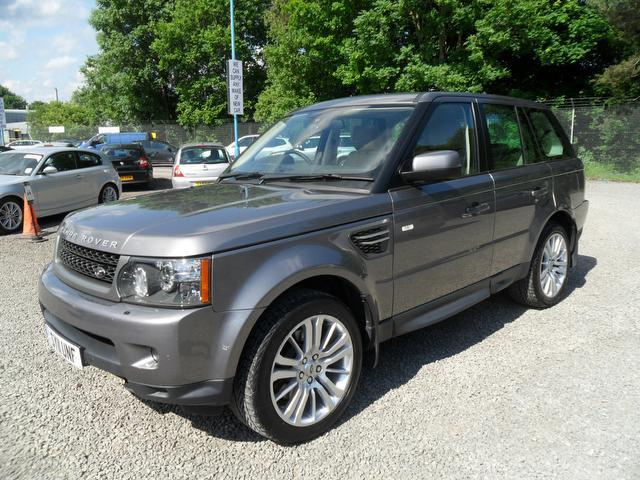 used land rover range 2011 grey colour diesel sport 3 0 4x4 for sale in inveralmond place uk. Black Bedroom Furniture Sets. Home Design Ideas