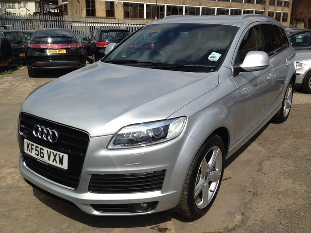 used audi q7 2006 model 3 0 tdi quattro s diesel 4x4 silver for sale in wembley uk autopazar. Black Bedroom Furniture Sets. Home Design Ideas