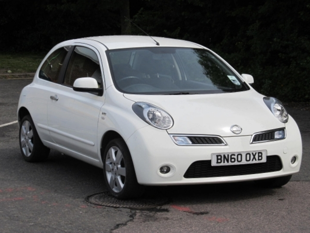 Used Nissan Micra 2010 White  Petrol Manual for Sale