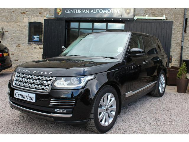 used land rover range 2013 black paint diesel 4 4 sdv8 4x4 for sale in kettering uk autopazar. Black Bedroom Furniture Sets. Home Design Ideas