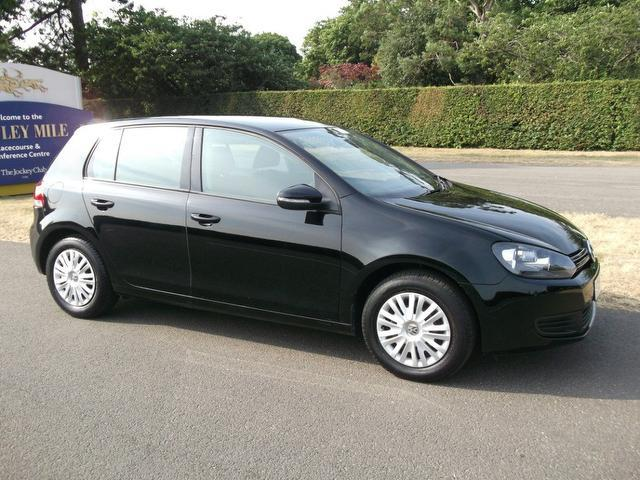 used black volkswagen golf 2010 petrol 1 2 tsi s 5dr. Black Bedroom Furniture Sets. Home Design Ideas