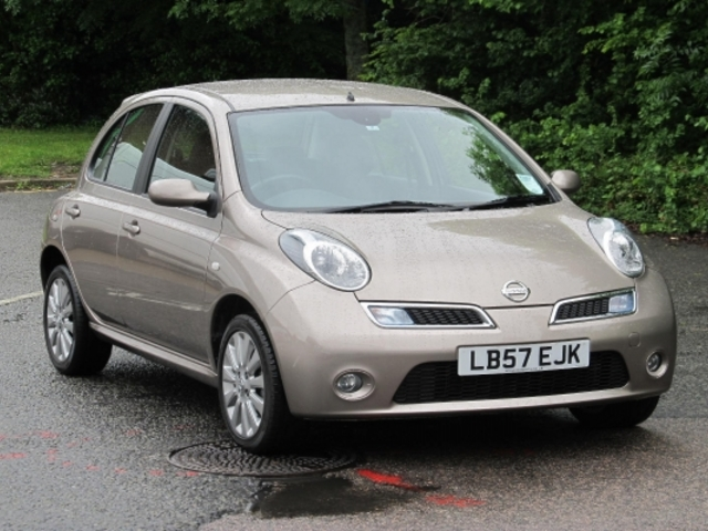 Used Nissan Micra 2008 Beige  Petrol Manual for Sale