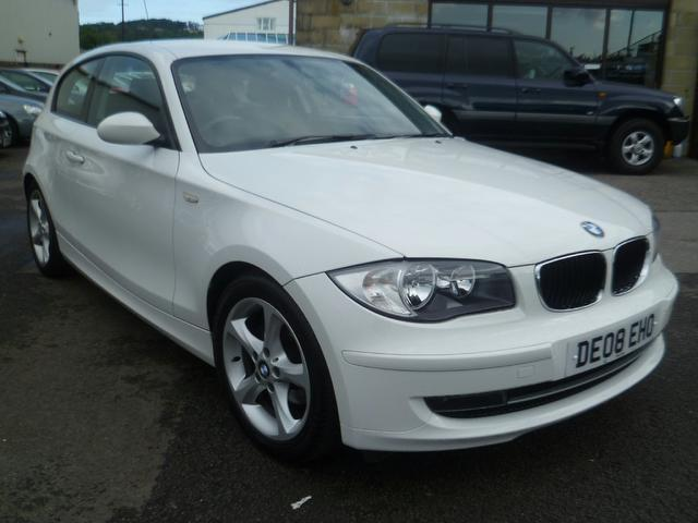 used 2008 bmw 1 series hatchback 118d se 3dr diesel for sale in penzance uk autopazar. Black Bedroom Furniture Sets. Home Design Ideas