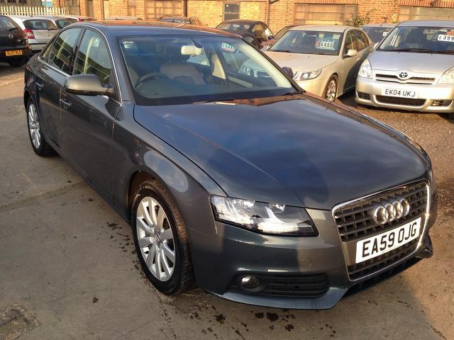 used audi a4 2009 diesel 2 0 tdi 143 se saloon grey edition for sale rh autopazar co uk A4 Owner's Manual 2009 Audi A4 Repair Manual