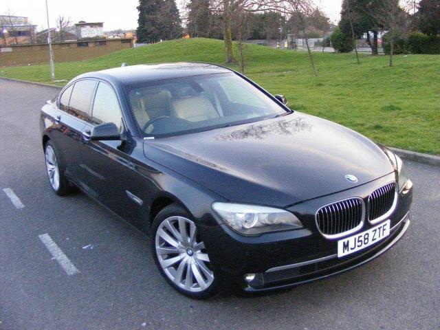 used bmw 7 series 2009 diesel 730d se 4dr saloon black automatic for sale in wembley uk autopazar. Black Bedroom Furniture Sets. Home Design Ideas