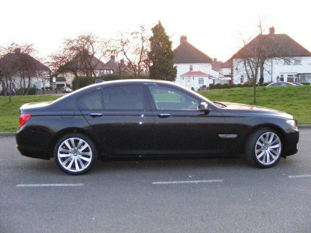 Used Bmw 7 Series 2009 Diesel 730d Se 4dr Saloon Black Automatic For ...