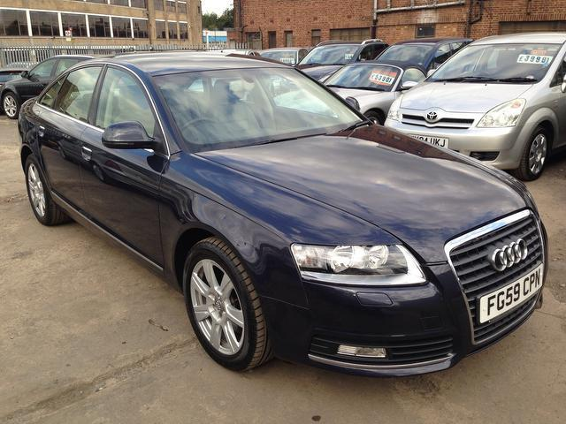 Used Audi A6 2009 Blue Saloon Petrol Manual for Sale