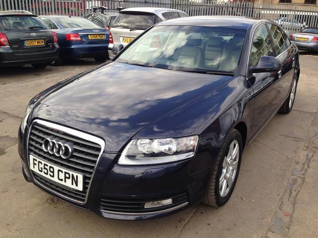 Used Audi A6 2.0 Tfsi Se 4 Door Saloon Blue 2009 Petrol for Sale in UK